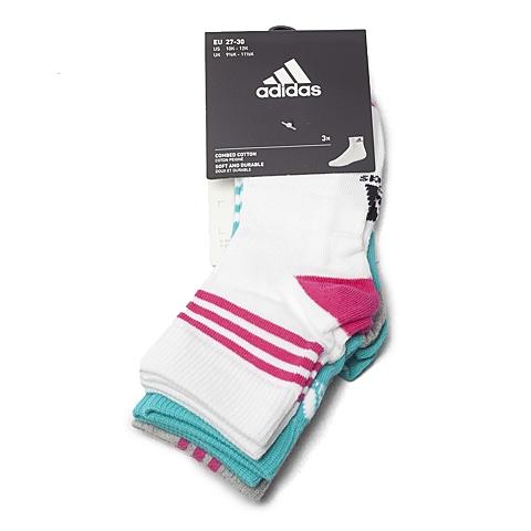 adidas阿迪达斯新款专柜同款小童袜子(3双)AO0238