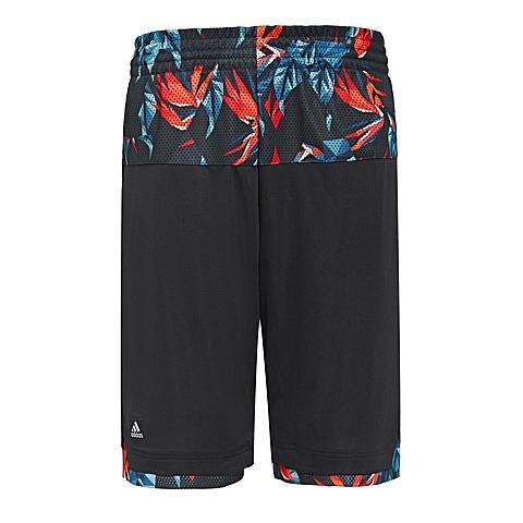 adidas 阿迪达斯新款男子篮球常规系列梭织短裤AH3155
