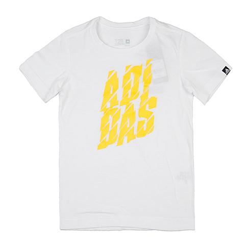 adidas阿迪达斯2016新款专柜同款男大童针织T恤AI5885