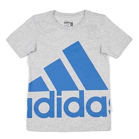 adidas阿迪达斯新款专柜同款男大童针织T恤AK2009
