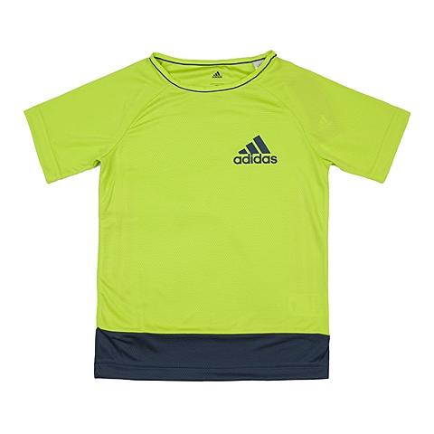 adidas阿迪达斯新款专柜同款男大童针织T恤AK2758