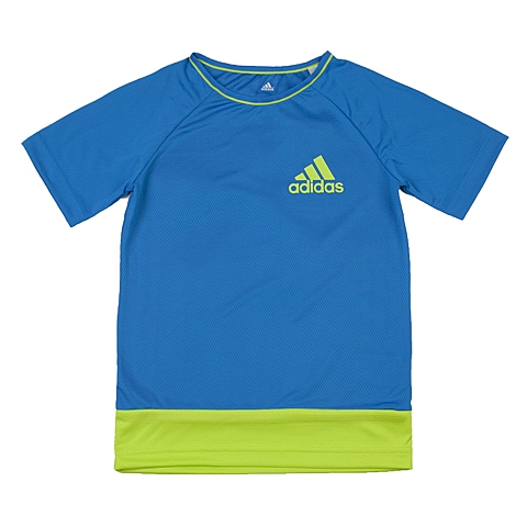 adidas阿迪达斯新款专柜同款男大童针织T恤AO4589