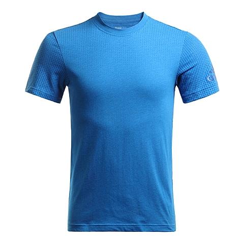 adidas阿迪达斯2016年新款男子科技三条纹系列短袖T恤AI4459