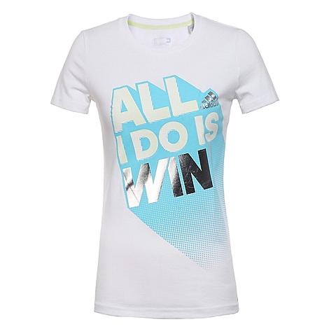 adidas阿迪达斯新款女子活力色彩系列短袖T恤AP5897