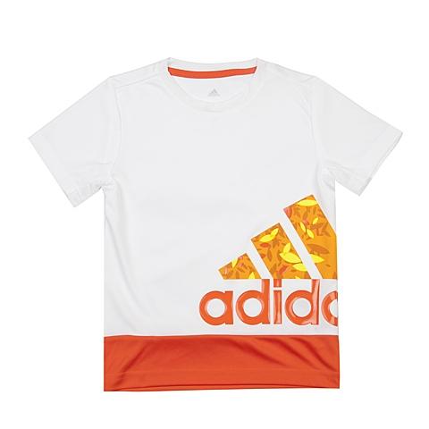 adidas阿迪达斯新款专柜同款男小童针织T恤AP6422