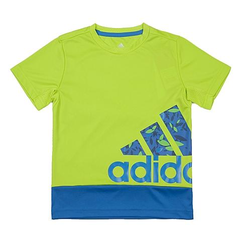 adidas阿迪达斯新款专柜同款男小童针织T恤AP6421