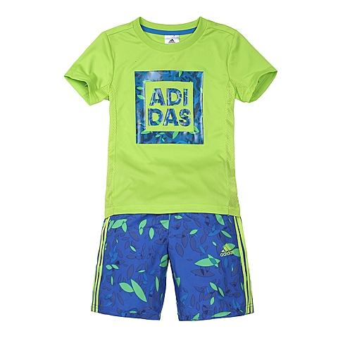 adidas阿迪达斯2016新款专柜同款男小童短袖套服AP6428