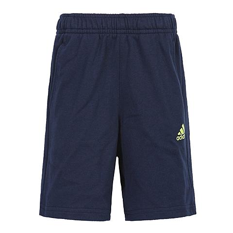 adidas阿迪达斯新款专柜同款男小童针织短裤AP6449