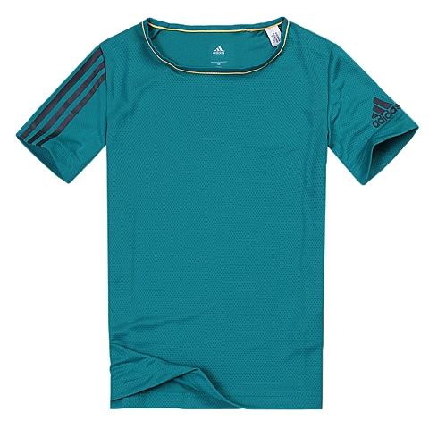adidas阿迪达斯新款专柜同款男大童CLIMA系列短袖T恤AK2574