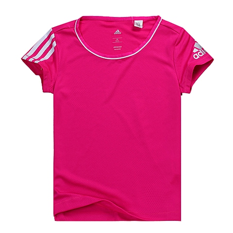 adidas阿迪达斯新款专柜同款女大童CLIMA系列短袖T恤AK2663