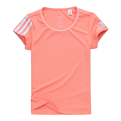 adidas阿迪达斯新款专柜同款女大童CLIMA系列短袖T恤AO4613