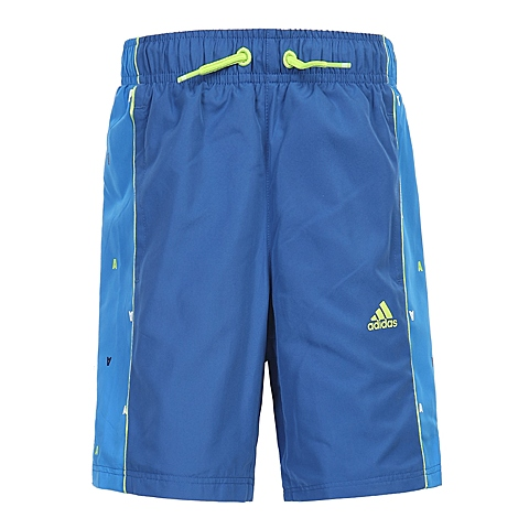 adidas阿迪达斯新款专柜同款男大童梭织短裤AP6555