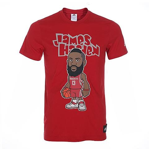 adidas阿迪达斯新款男子NBA图案系列T恤AY0224