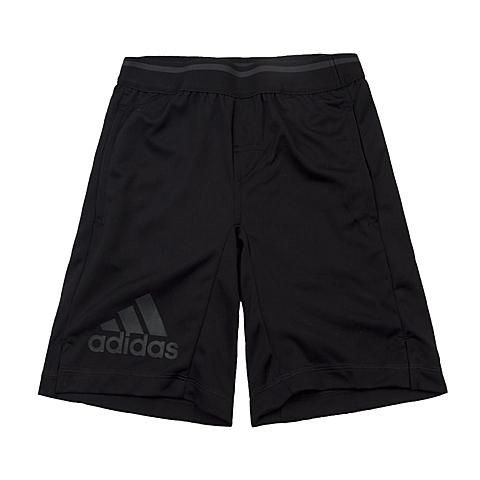 adidas阿迪达斯新款专柜同款男大童CLIMA系列针织短裤AJ6145
