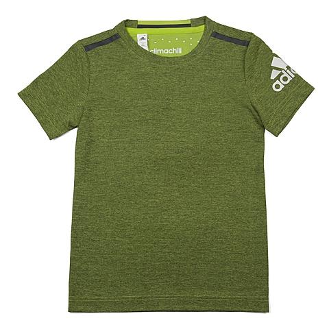 adidas阿迪达斯新款专柜同款男大童CLIMA系列短袖T恤AO1909