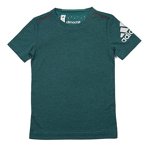 adidas阿迪达斯新款专柜同款男大童CLIMA系列短袖T恤AO2972