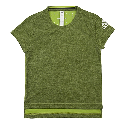 adidas阿迪达斯新款专柜同款女大童CLIMA系列短袖T恤AJ7374