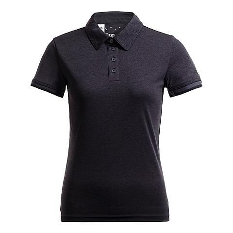adidas阿迪达斯新款女子动感青春系列POLO短袖T恤AJ9285
