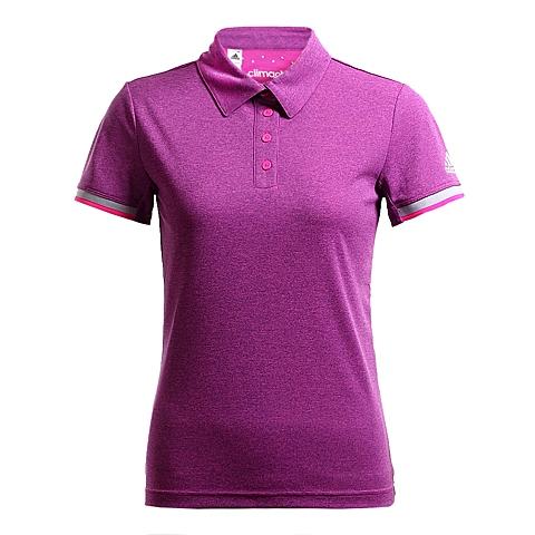 adidas阿迪达斯新款女子动感青春系列POLO短袖T恤AJ9286