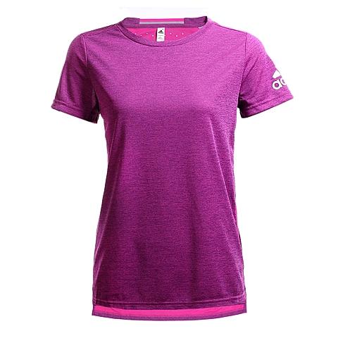 adidas阿迪达斯2016年新款女子训练系列圆领短袖T恤AI0876