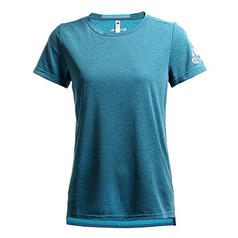 adidas阿迪达斯新款女子训练系列圆领短袖T恤AI0878