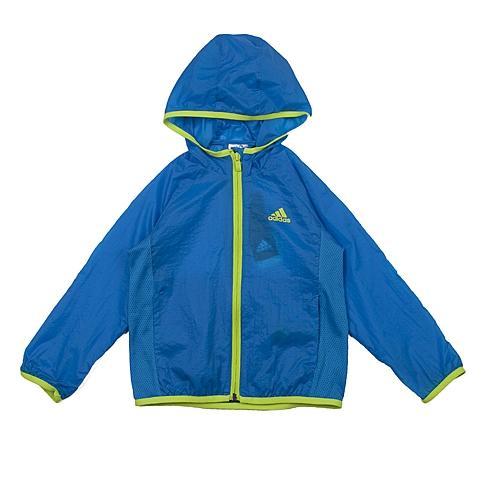 adidas阿迪达斯新款专柜同款男小童梭织茄克AZ3538
