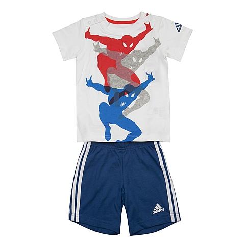 adidas阿迪达斯新款专柜同款男婴童迪士尼系列短袖套服AK2541