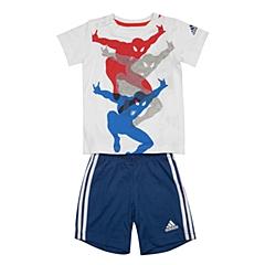 adidas阿迪达斯2016新款专柜同款男婴童迪士尼系列短袖套服AK2541
