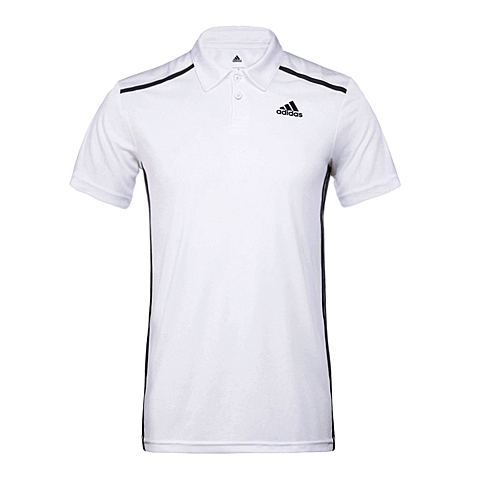 adidas阿迪达斯新款男子科技三条纹系列POL衫AJ5516