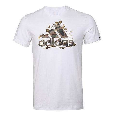 adidas阿迪达斯新款男子亚洲图案系列T恤AI6055