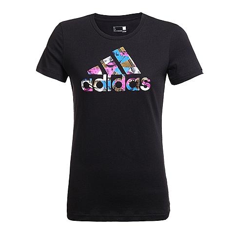 adidas阿迪达斯新款女子运动休闲系列T恤AI6137