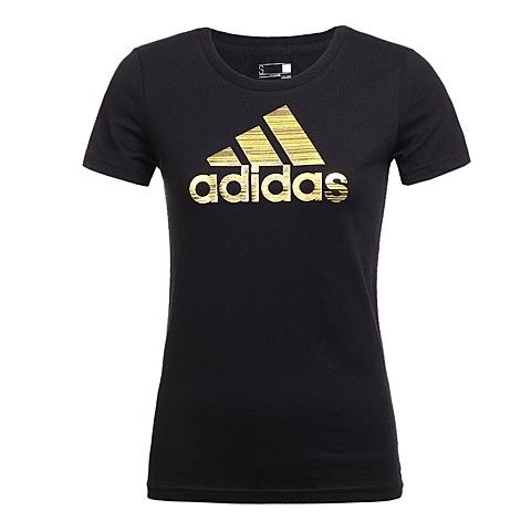 adidas阿迪达斯2016年新款女子运动休闲系列T恤AZ9463