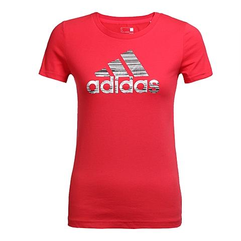 adidas阿迪达斯2016年新款女子运动休闲系列T恤AZ9464