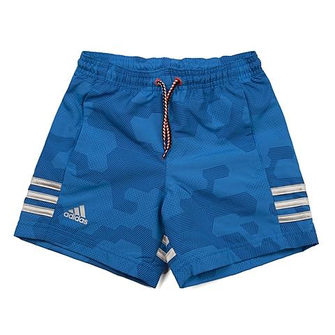 adidas阿迪达斯新款专柜同款男小童梭织短裤AJ6558