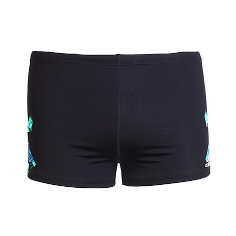 adidas阿迪达斯新款男子竞技图案系列泳裤AJ8342