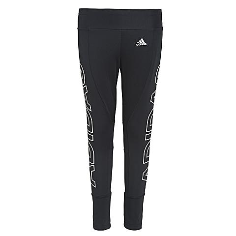 adidas阿迪达斯2016年新款女子运动休闲系列紧身长裤AJ6348