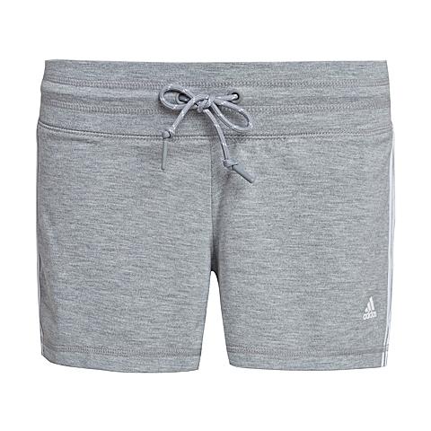 adidas阿迪达斯新款女子基础系列针织短裤AJ4656