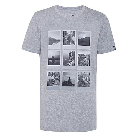 adidas阿迪达斯新款男子多功能越野系列短袖T恤AI5922