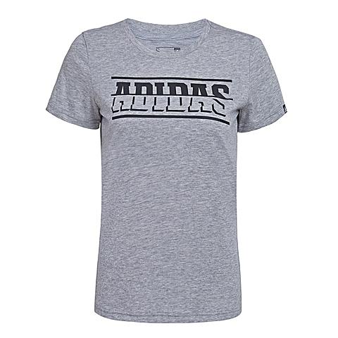adidas阿迪达斯新款女子运动休闲系列短袖T恤AI6110
