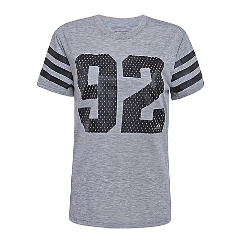 adidas阿迪达斯2016年新款女子运动休闲系列短袖T恤AI6118