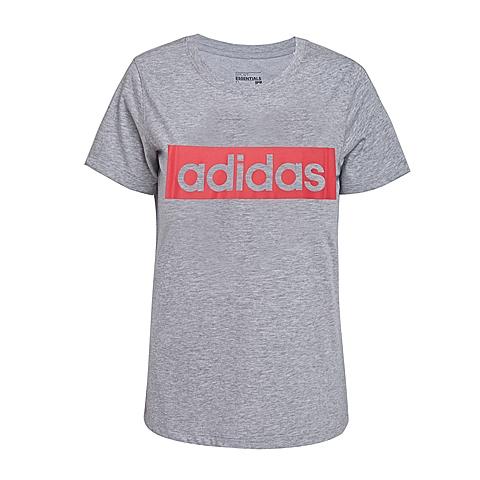 adidas阿迪达斯新款女子基础系列W短袖T恤AO4711