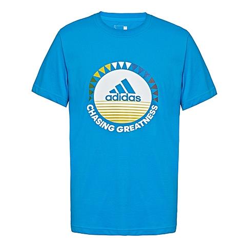 adidas阿迪达斯新款男子运动休闲系列短袖T恤AP6419