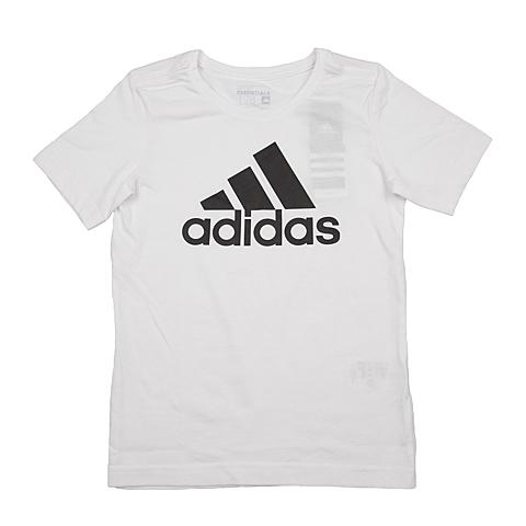 adidas阿迪达斯新款专柜同款男大童短袖T恤AB5747