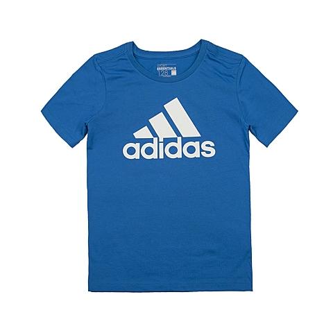 adidas阿迪达斯新款专柜同款男大童短袖T恤AK1989