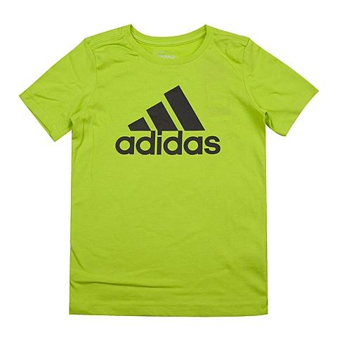 adidas阿迪达斯新款专柜同款男大童短袖T恤AK1991