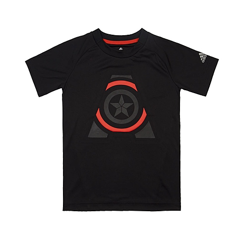adidas阿迪达斯新款专柜同款男大童迪士尼系列短袖T恤AK2524