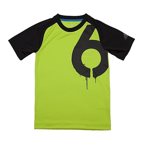 adidas阿迪达斯新款专柜同款男大童短袖T恤AK2722