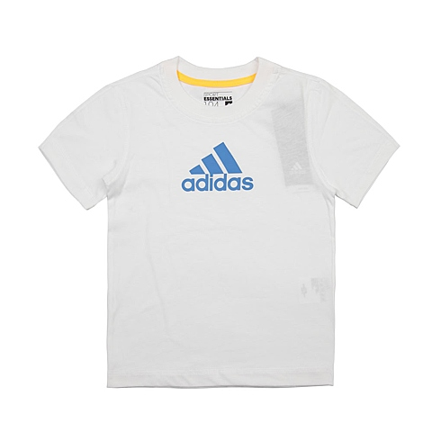 adidas阿迪达斯新款专柜同款男小童短袖T恤AK2770