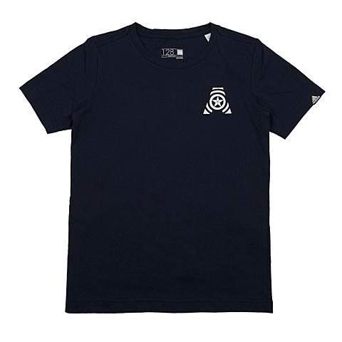 adidas阿迪达斯新款专柜同款男大童短袖T恤AO4269