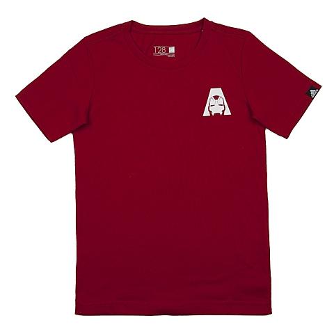 adidas阿迪达斯新款专柜同款男大童短袖T恤AO4272